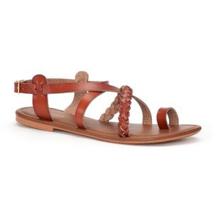 SONOMA Strappy Braided Toe Loop Sandals